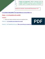 Thème 3 2-Etape 1les hypothèses du modèle.doc
