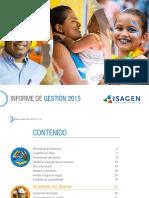 Informe de Gestion 2015