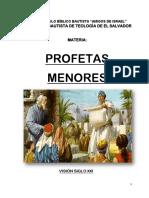 PROFETAS MENORES