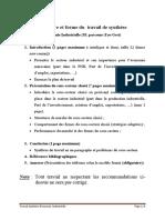 Structure Et Forme Du Travail de Synthèse (1)