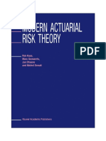 4. Modern Actuarial Risk Theory