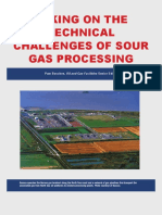 Sour gas processing