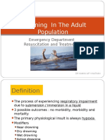 drowning in adult population