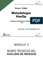 Modulo II Hazop