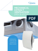 Mechanical Extract Ventilation
