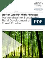 Better Growth With Forests - ALIANZAS PARA EL DESARROLLO RURAL SOSTENIBLE EN LA FRONTERA FORESTAL