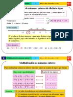 75a70_Multiplicación y División de Números Enteros