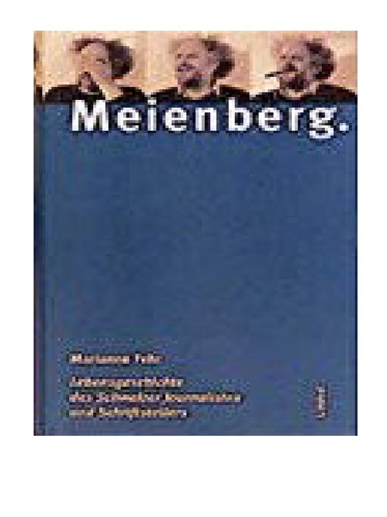Marianne Fehr: Meienberg