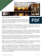 Sayid Qutb, les Ikhwan et la Franc-maçonnerie (1)