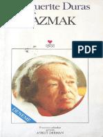 Marguerite Duras - Yazmak