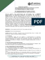 Edital de Credenciamenti ARSAL Nb007.2016 - Vistoria de Veiculos