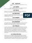 Culturas indigenas prehispanicas