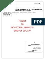 Energy Sector(IA)