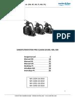 MV 1029 1030 1031 1050 Sandfilter Pro Classic DSUFNP