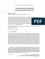[2049-5331 - Review of Keynesian Economics] Wage-led Versus Profit-led Demand Regimes- The Long and the Short of It