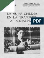 Vânia Bambirra - La mujer chilena en la transición al socialismo.pdf
