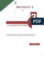 MODULO 3 de Teoria Politica I