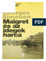 Georges Simenon - Maigret És Az Idegek Harca