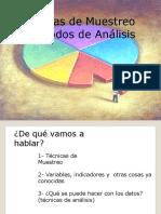 Clase 3 y 4.- Tecnicas de Muestreo y Analisis de Datos