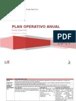Plan Operativo Anual 2016-2017