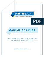 Manual de Ayuda - MotorSoft