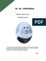 Código de Convivencia U.E. Madre Laura