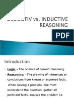 Deductive vs Inductive Logics