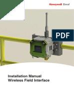 Honeywell Enraf WFI Installation Manual