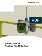 Honeywell Enraf WFI Service Manual