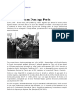 Biografia de Juan Peron Daira Canacuan