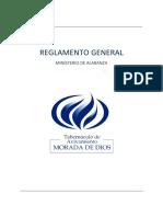 Reglamento Del Ministerio de Alabanza