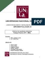 Informe TP Nº1 - ANÁLISIS de MIEL (Versión Final)