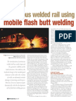 Continuous Welded Rail Using the Mobile