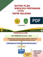 Master Plan Taman Teknologi Pertanian Tapin