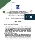 PDF Doa Upacara Hut Proklamasi