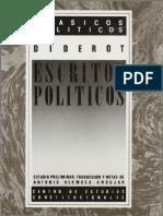 Diderot - Escritos Politicos.pdf