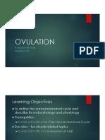 Ovulation Menstrual Cycle