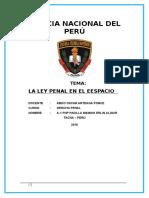 Aplicación de La Ley Penal en El Eespacio 1