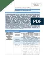 PLANIFIACION POR UNIDAD DIDACTICA Mat1 Unidad 01