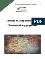 Conflicto en Siria y Medio Oriente. Claves Históricas y Geopolíticas
