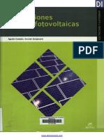 LIBRO Instalaciones Solares Fotovoltaicas Deingenieria.com