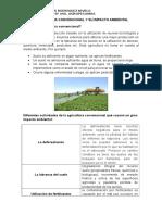 Agricultura Convencional y Su Impacto Ambiental