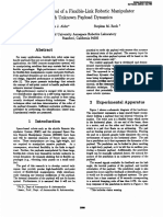 1993_Adaptive Control of a Flexible-Link Robotic Manipulator With Unknown Payload Dynamics