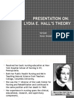 Lydia E Hall's Theory (Nov 06)