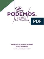 Documento del Plan Integral de Garantías Ciudadanas de Castilla-La Mancha
