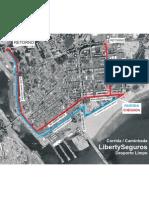 I Corrida Liberty Seguros Mapa2010