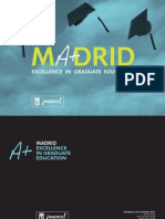 Madrid Excelence in Graduate Education