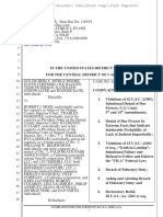 Federal Complaint against Orange County Judges & Court of Appeal