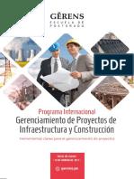 Folleto - Proyectos Infraestructura y Construccion