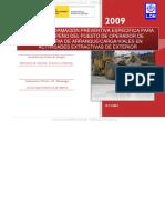 Curso Operadores Cargadores Excavadoras Prevencion Revision Equipos Elementos Sistemas Seguridad Control Vigilancia